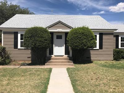 Single Family Home For Sale: 3208 36th Street