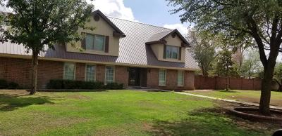 Lubbock Single Family Home Under Contract: 1707 Pontiac Avenue