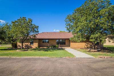 Levelland Single Family Home Under Contract: 201 Wheat Street