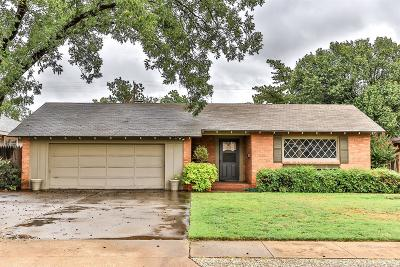 Lubbock Single Family Home For Sale: 3110 39th Street