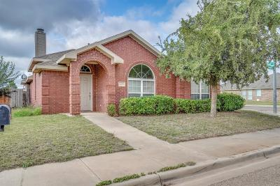 Lubbock TX Single Family Home For Sale: $172,500