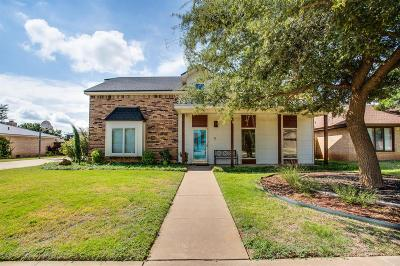 Lubbock Single Family Home Contingent: 5807 Dartmouth Street