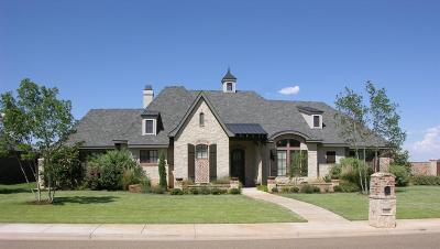 Lubbock TX Single Family Home For Sale: $674,500