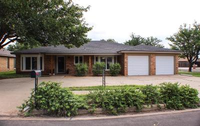 Single Family Home For Sale: 8109 Topeka Avenue