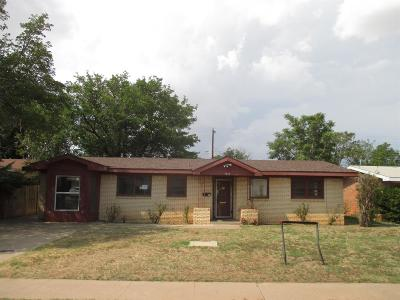 Single Family Home For Sale: 5012 45th Street