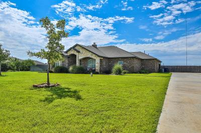Lubbock Single Family Home Under Contract: 2903 County Road 7570