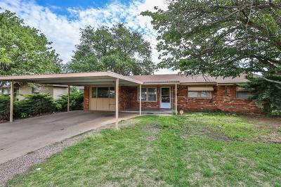 Lubbock Single Family Home For Sale: 5438 6th Street