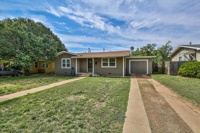 Single Family Home For Sale: 4501 45th Street