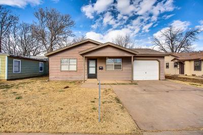 Lubbock Single Family Home For Sale: 2114 32nd Street