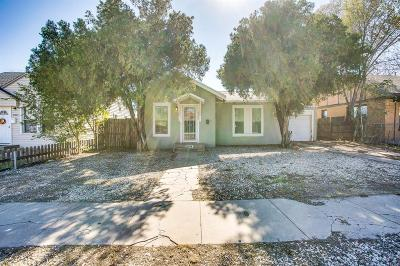 Single Family Home For Sale: 2105 20th Street