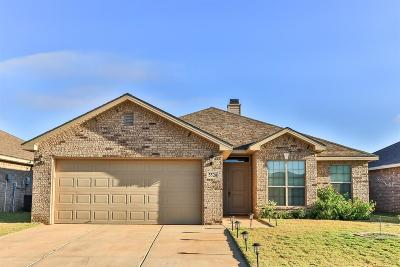 Lubbock Single Family Home For Sale: 5524 111th Street