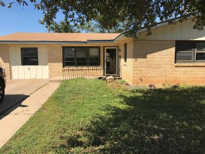 Single Family Home For Sale: 4618 45th Street