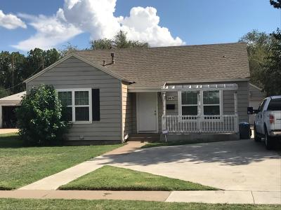 Lubbock Single Family Home For Sale: 2419 28th Street