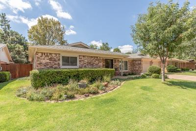 Lubbock Single Family Home Under Contract: 5411 79th Street