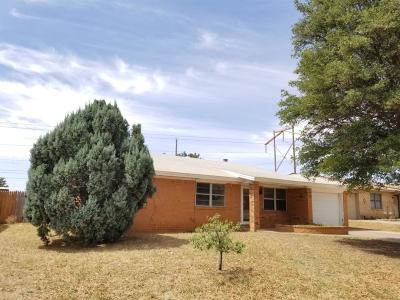 Wolfforth Rental For Rent: 709 11th Street
