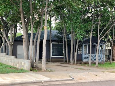 Lubbock Single Family Home Under Contract: 2824 33rd Street