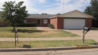 Lubbock TX Rental For Rent: $1,195