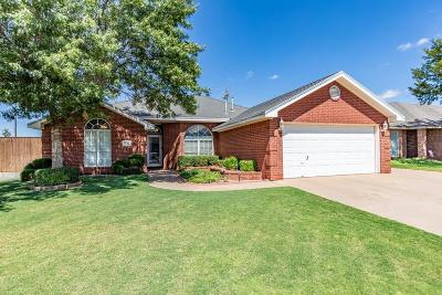 Lubbock Single Family Home For Sale: 6038 74th Street