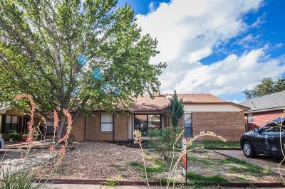 Lubbock Single Family Home For Sale: 5821 7th Street