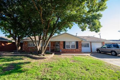 Lubbock Single Family Home For Sale: 5417 9th