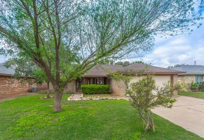 Lubbock Single Family Home For Sale: 4911 63rd Street