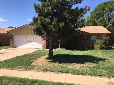 Lubbock Single Family Home For Sale: 8620 Elkridge