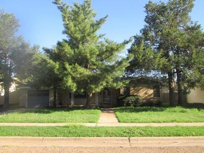 Lubbock Single Family Home For Sale: 3112 45th Street