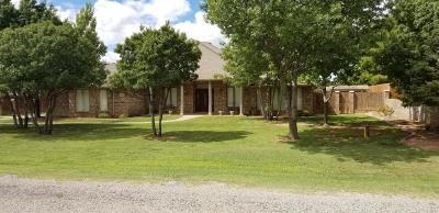 Lubbock Single Family Home Under Contract: 1306 Monticello Avenue