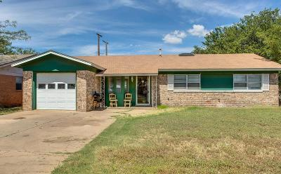 Lubbock Single Family Home For Sale: 1210 47th Street