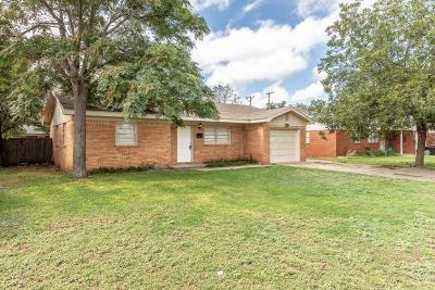 Lubbock TX Single Family Home For Sale: $84,900