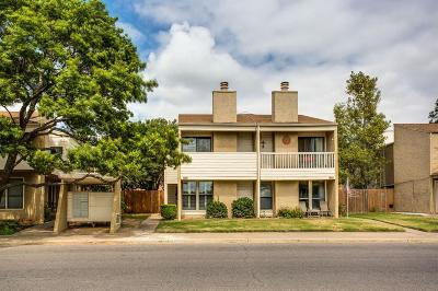 Lubbock TX Condo For Sale: $94,500