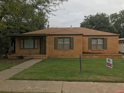 Lubbock Single Family Home For Sale: 3104 29th Street