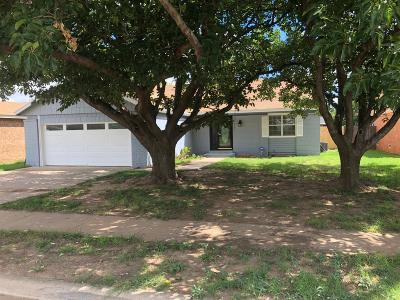 Lubbock Single Family Home For Sale: 8811 Flint Avenue