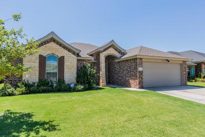 Lubbock Single Family Home For Sale: 6519 72nd Street