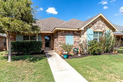 Lubbock Single Family Home For Sale: 2610 112th Street