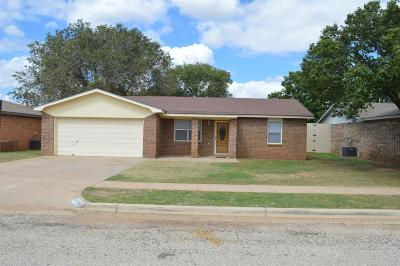 Lubbock Single Family Home For Sale: 2208 87th Street
