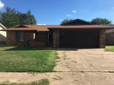 Lubbock Single Family Home For Sale: 5733 2nd Street