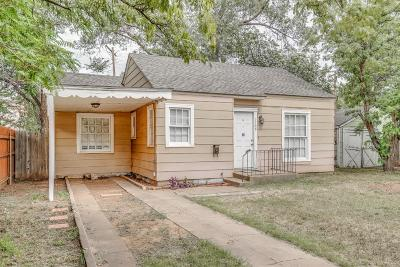 Lubbock County Single Family Home For Sale: 2108 15th Street