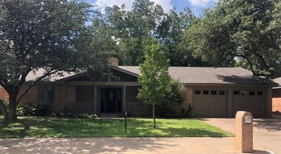 Lubbock TX Single Family Home For Sale: $219,950