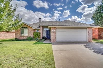 Lubbock Single Family Home For Sale: 3305 103rd Street