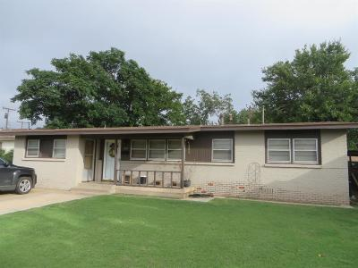 Lubbock TX Single Family Home For Sale: $59,900