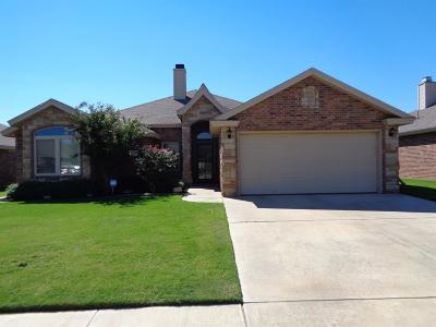 Lubbock Single Family Home For Sale: 6103 102nd Place