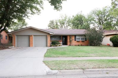 Lubbock Single Family Home Under Contract: 3214 53rd Street