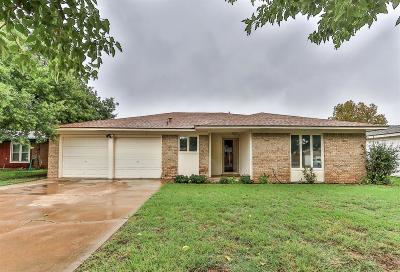 Lubbock Single Family Home For Sale: 8413 Fremont Avenue
