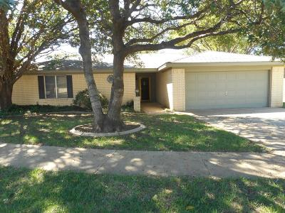 Lubbock Single Family Home For Sale: 4403 76th Street