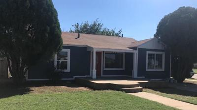 Lubbock County Single Family Home Under Contract: 3117 Grinnell Street