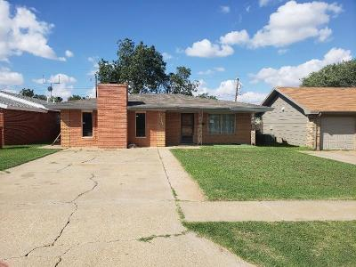 Lubbock Single Family Home For Sale: 4514 38th Street