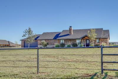 Shallowater Single Family Home Under Contract: 8317 County Road 6000