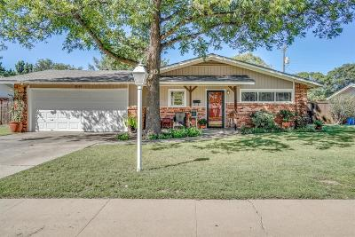 Lubbock TX Single Family Home For Sale: $139,500