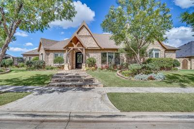 Lubbock Single Family Home For Sale: 3910 110th Street